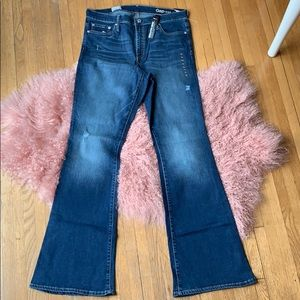 NWT❗️GAP Resolution Skinny Flare Jeans Size 33r